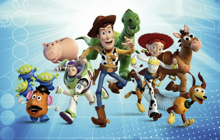 Toy-Story-the-Gang-Wall-Muraltoy story małe